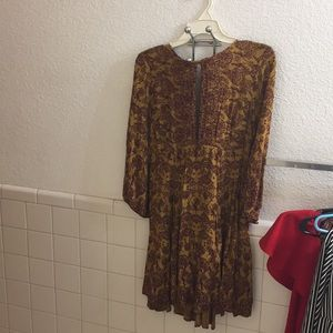 Urban Outfitters Fall Swing Dress